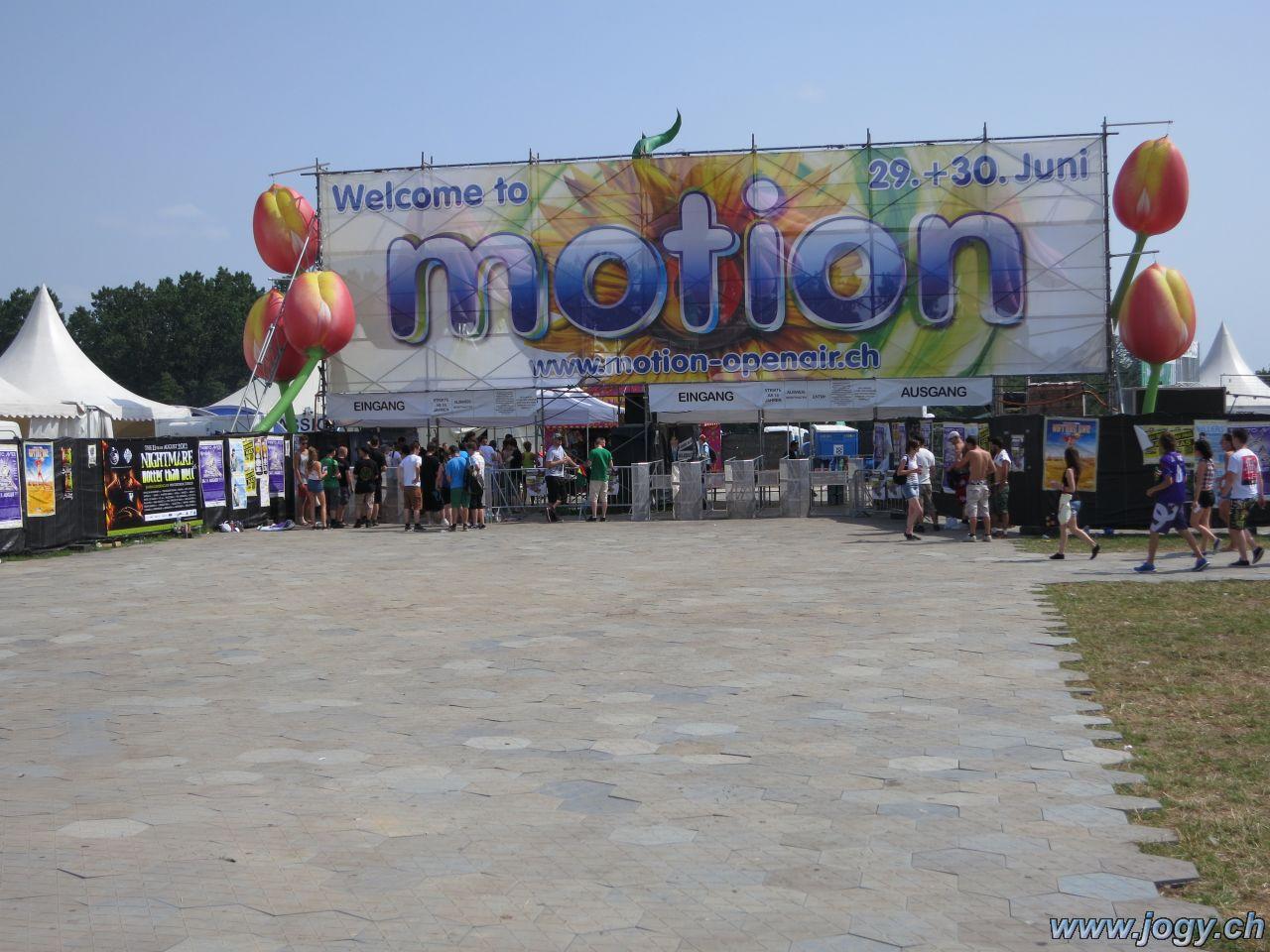 Eingang Motion Openair
