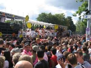 Streetparade 2006 in Zürich