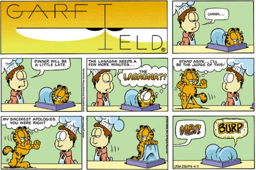 Comics mit Garfield